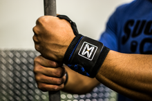 Thin Blueline Wrist Wraps