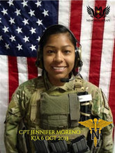 CPT JENNIFER M. MORENO was KIA Killed Oct. 6, 2013, Operation Enduring Freedom-Afghanistan