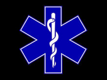 """Star of Life"" : Paying Tribute To All EMS Personnel Wrist Wraps"