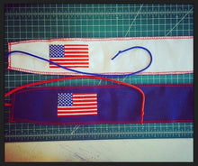 """OLD GLORY: FOR THIS I WILL GIVE MY LIFE"" Wrist Wrap"