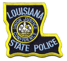 Louisiana State Police Wrist Wraps for Fitness Weight Lifting