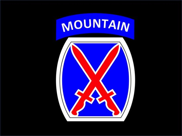 10th Mountain Division Wrist Wrap