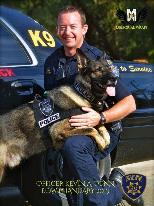 Officer Kevin A. Tonn, Galt Police Department (CA)
