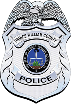 Prince William County Police Wrist Wraps for Fitness Weight Lifting