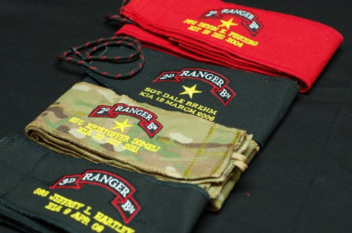 Honoring Our Ranger Brothers Wrist Wraps by Memorial Wraps