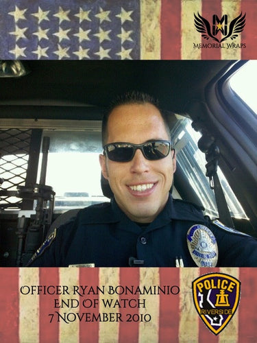 Officer Ryan Bonaminio - Riverside PD / 812th Military Police Co