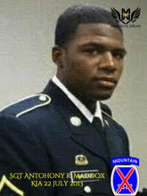 SGT Anthony R. Maddox - 10th Mountain