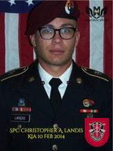 SPC Christopher Landis - 3rd SFG (A)