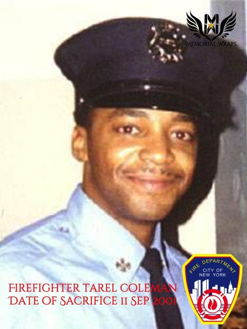 Firefighter Tarel Coleman, FDNY