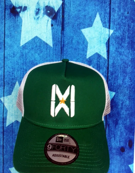 MW Snapback White/Green