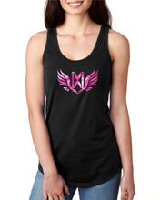 Pink Camo Memorial Wraps Ladies Tank