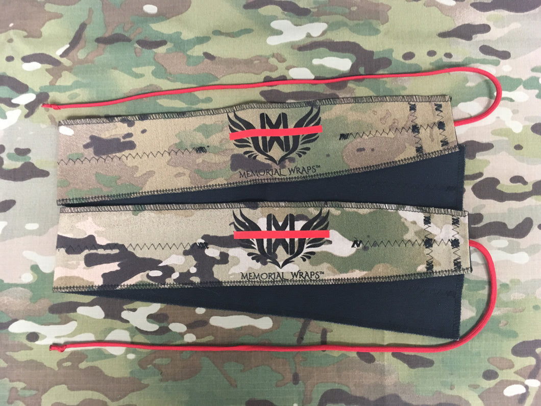 Thin Red Line Wrist Wraps SP