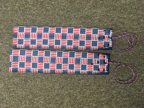 United States Of America Wrist Wraps by Memorial Wraps
