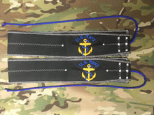 """Navy Anchor: Keeping Sailors At Foreign Ports Since 1775"" Wrist Wraps"