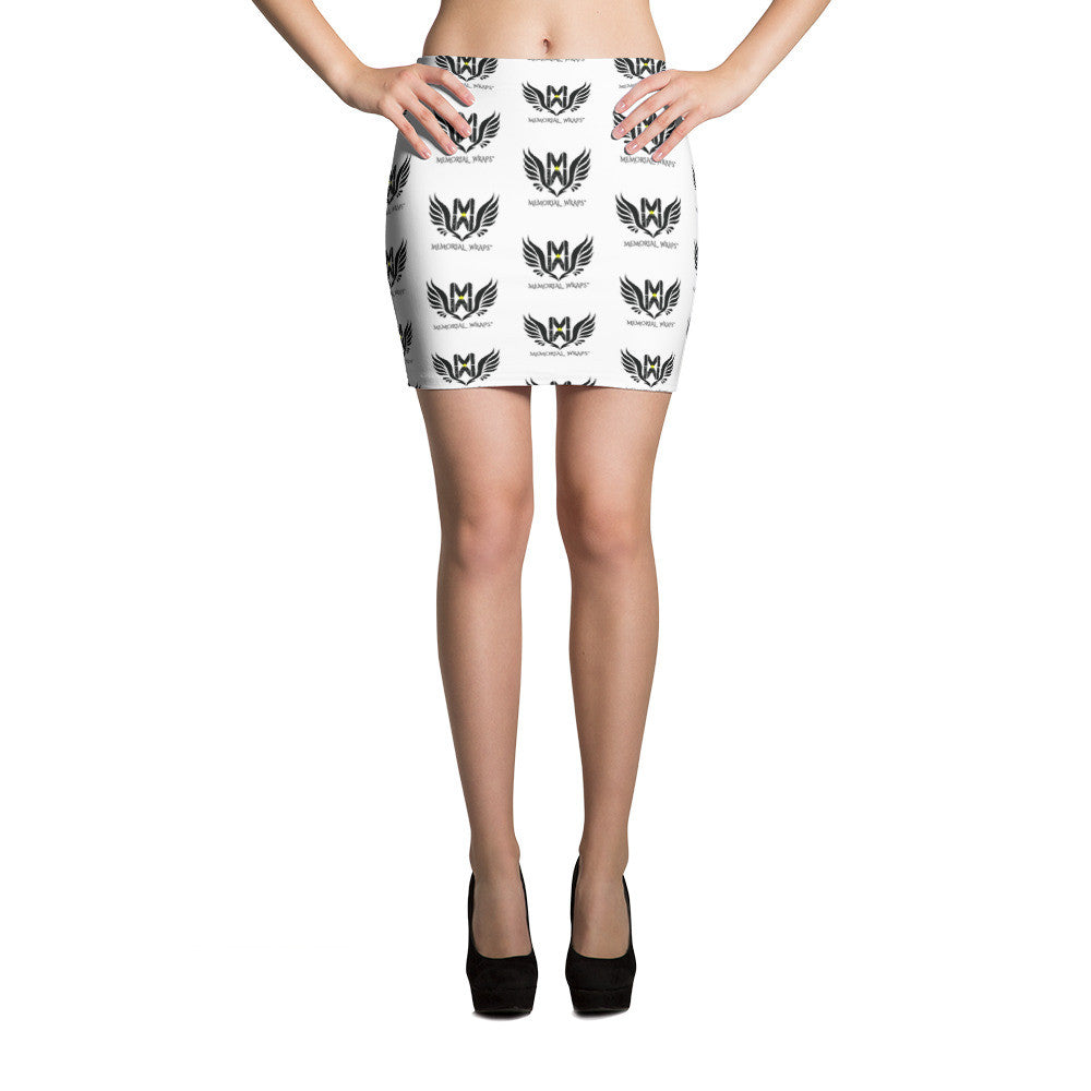 Memorial Wraps Sublimation Cut & Sew Mini Skirts