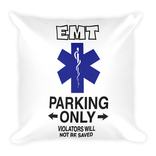 EMT Parking WOD Pillow