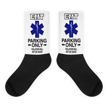 EMT Parking Black foot socks