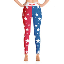 Memorial Wraps Stars Yoga Leggings
