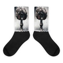 Boom Black foot socks