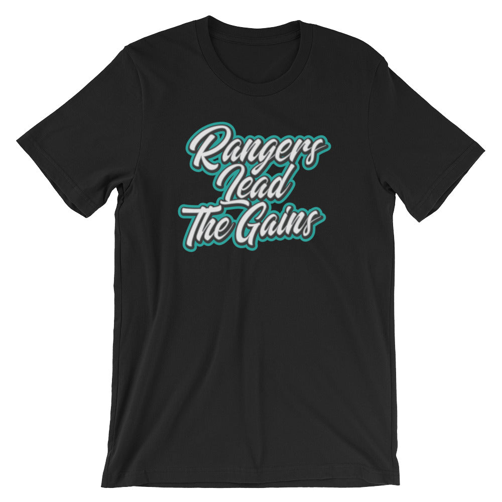 Army Rangers Lead The Way Gains T-shirt by Memorial Wraps