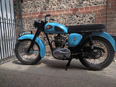 BSA motorcycle british vintage 250 classic clothing