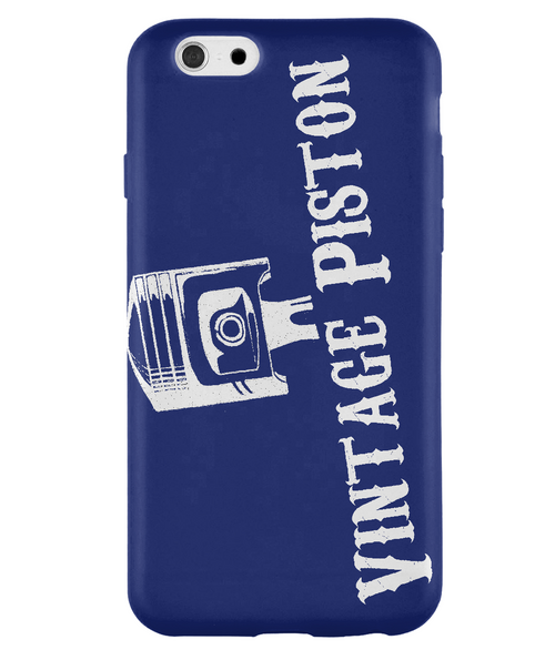 iPhone 6S Full Wrap Case VP piston logo white - VintagePiston