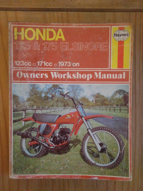 Honda 125 & 175 Elsinore workshop manual - VintagePiston
