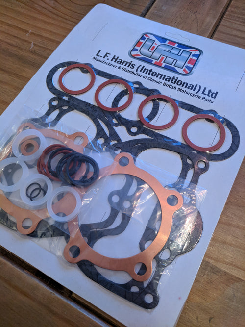 Triumph 650 gasket decoke set - VintagePiston