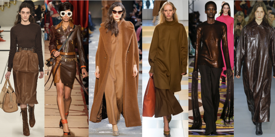 SEASON'S TRENDS: CHOCOLATE BROWN