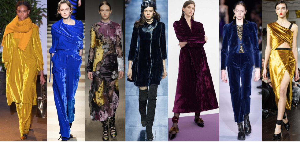 SEASON'S TRENDS: VELVET TOUCH