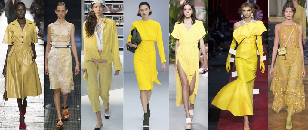 SEASON'S TRENDS: YELLOW