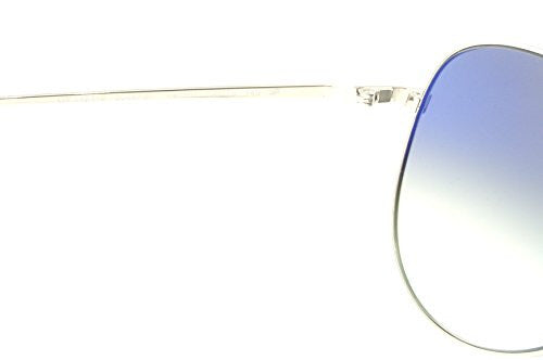 Oliver Peoples Sunglasses Kannon 1191S 50363F Silver with Blue Gradient Photo VFX Lens