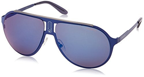 Carrera Champmts Wayfarer Sunglasses,Matte Blue,61 mm