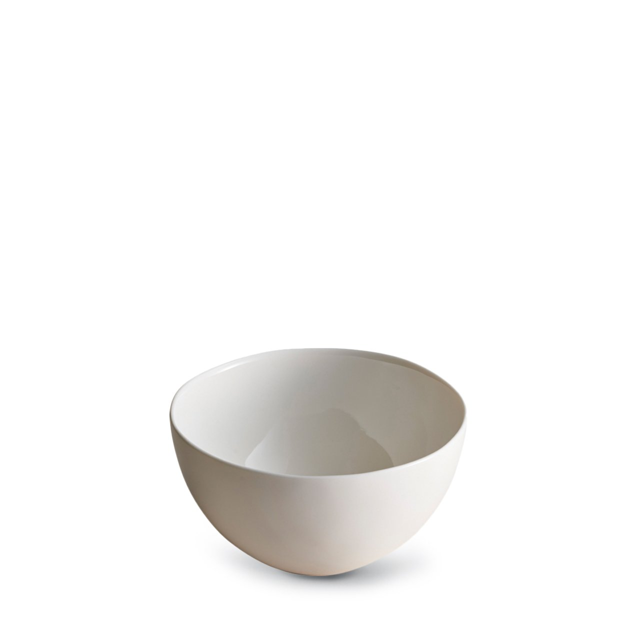 Dune Porcelain White Bowl