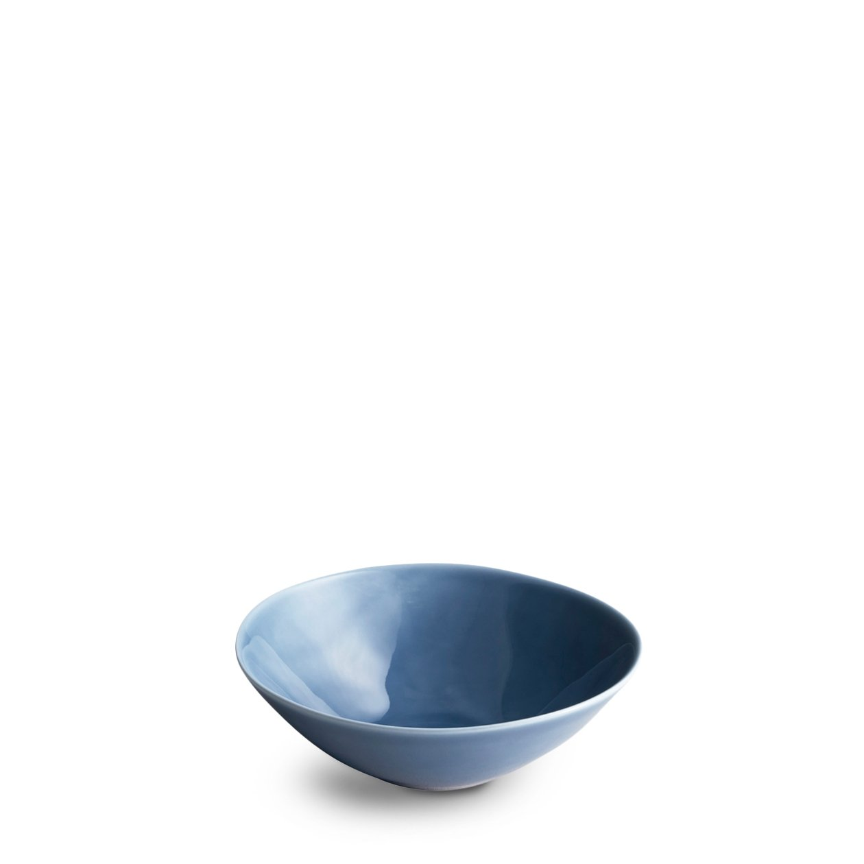 Dune Porcelain Deep Plate Small Navy