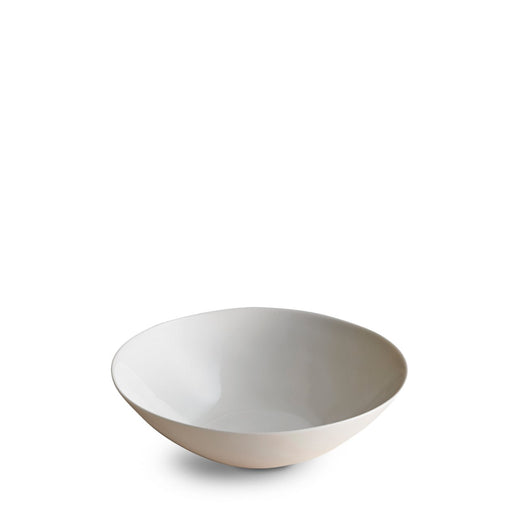 Dune Porcelain Deep Plate Medium White