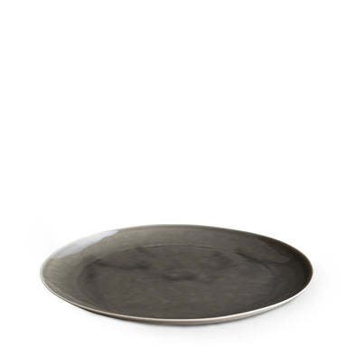 Dune Porcelain Large Plate Grey