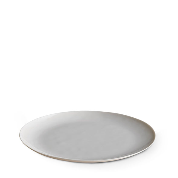 Dune Porcelain Large Plate White