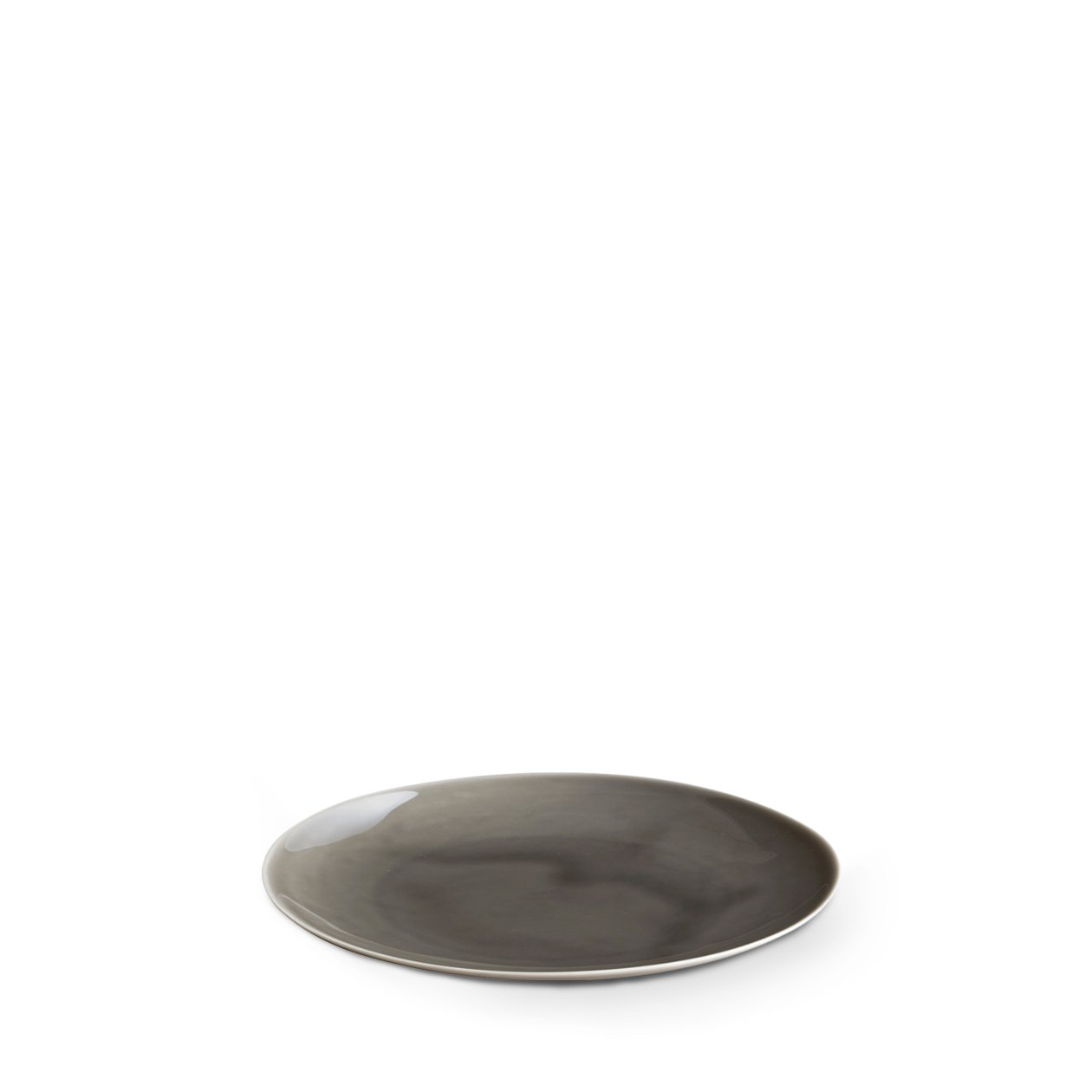 Dune Porcelain Small Plate Grey