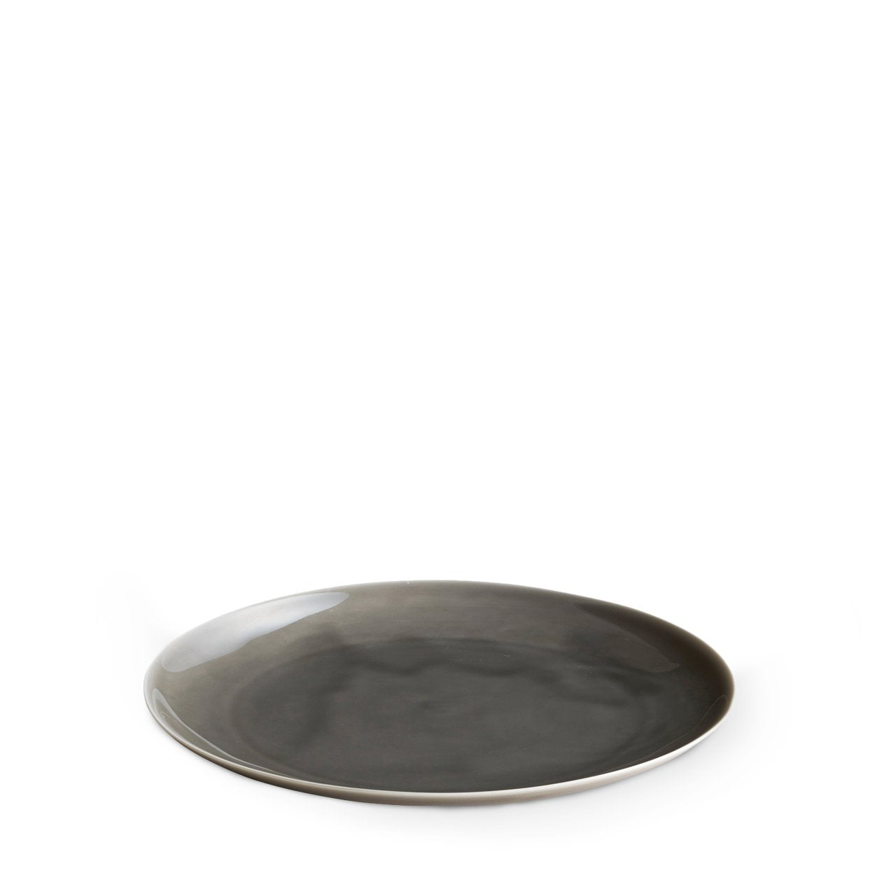 Dune Porcelain Medium Plate Grey