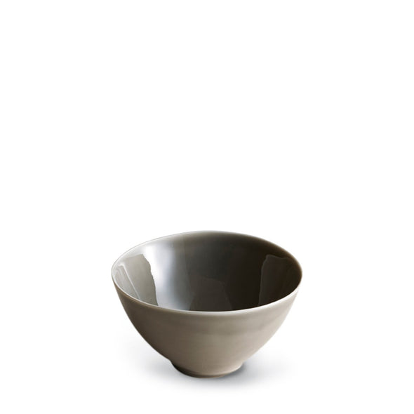 Dune Porcelain Grey Rice Bowl