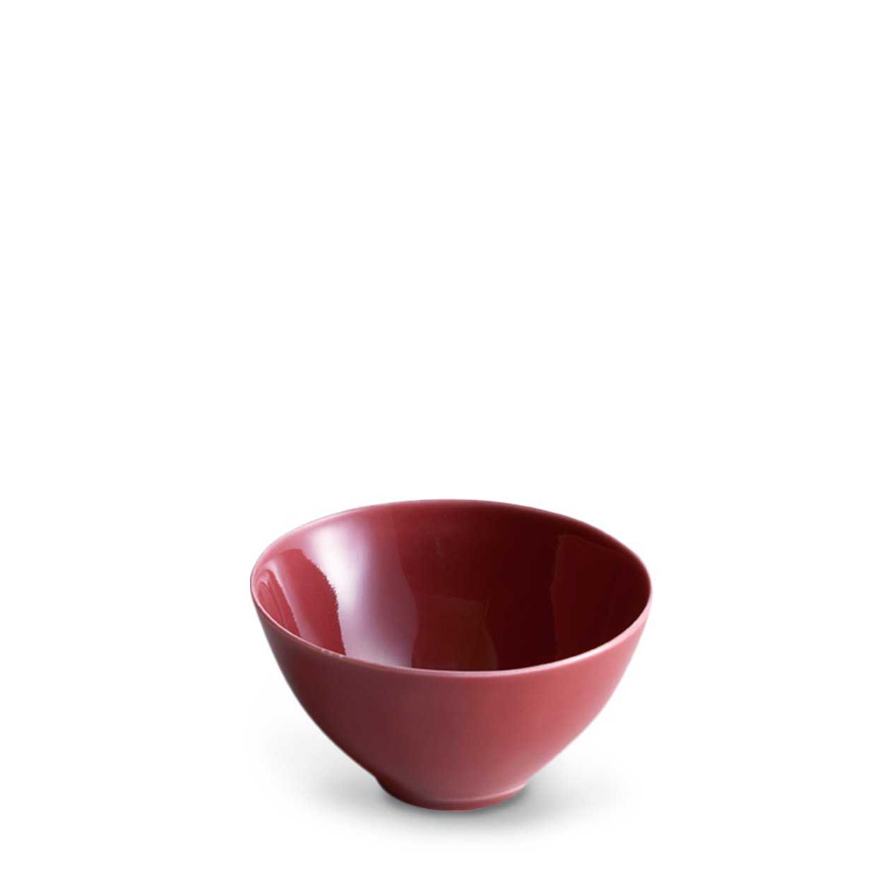 Dune Porcelain Red Rice Bowl