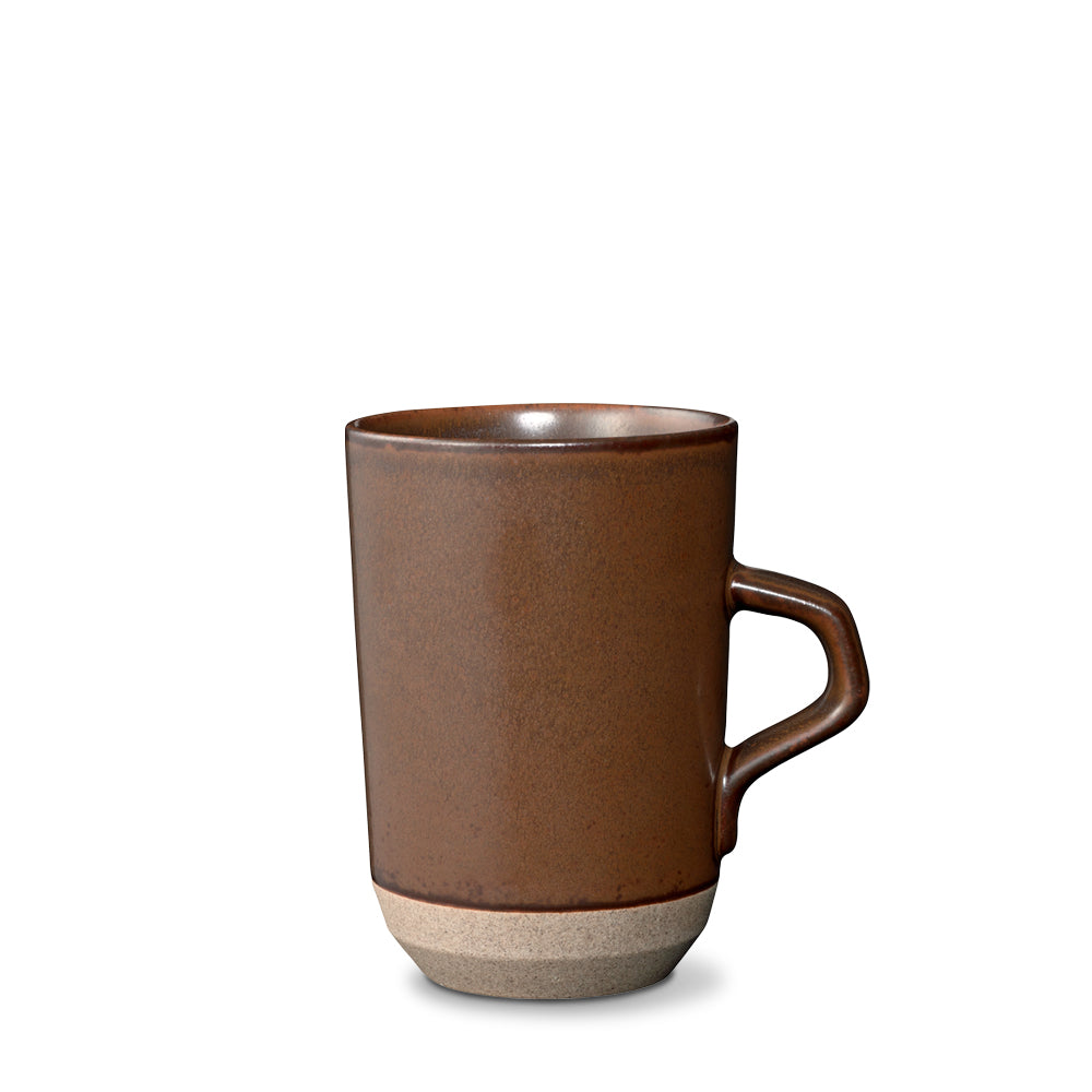 Ceramic Lab Tall Brown Mug