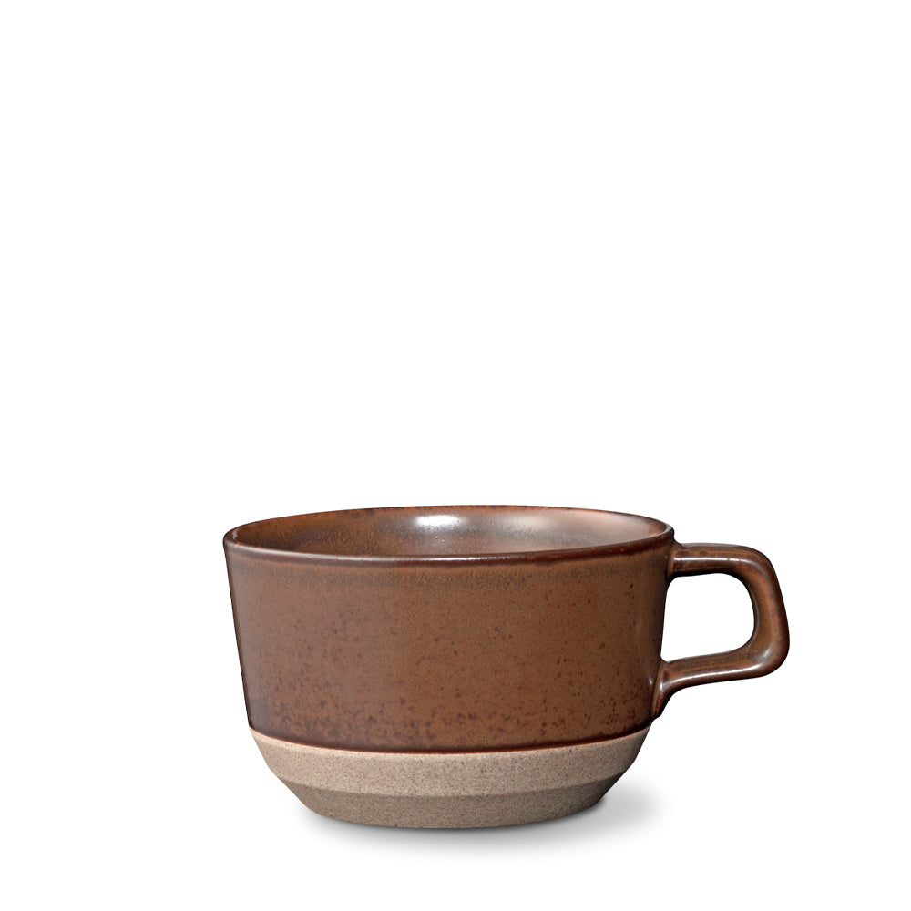 Ceramic Lab Wide Brown Mug
