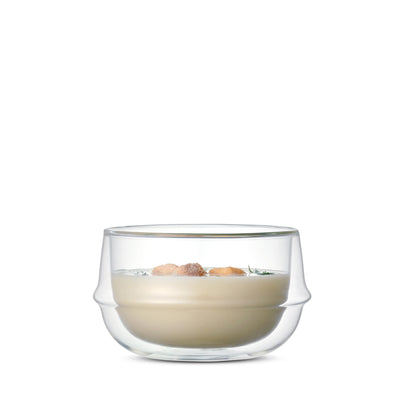 KRONOS Double Wall Glass Soup Bowl