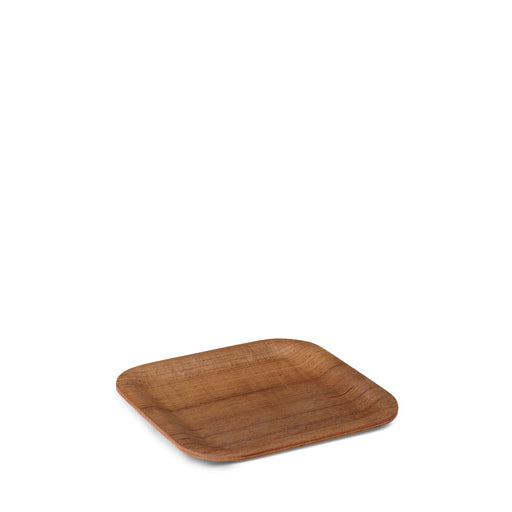 NONSLIP Square Tray Teak