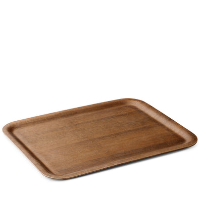 NONSLIP Rectangular Tray Teak