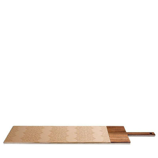 in/taglio 2, serving board, ecru