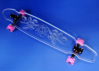 Rose Board - Ghost Long Board