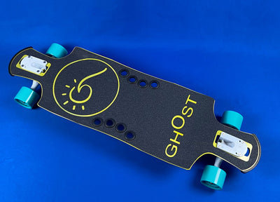 Yellow Surf & Sun - Ghost Long Board